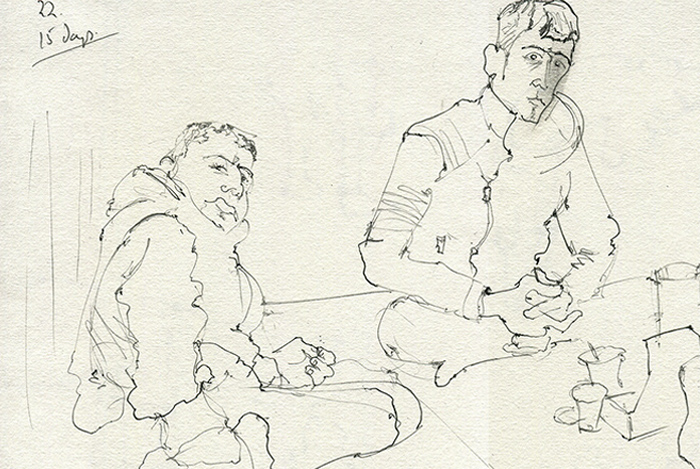 Calais_Winter_2015_reportage_drawings_Nick_Ellwood_feat7