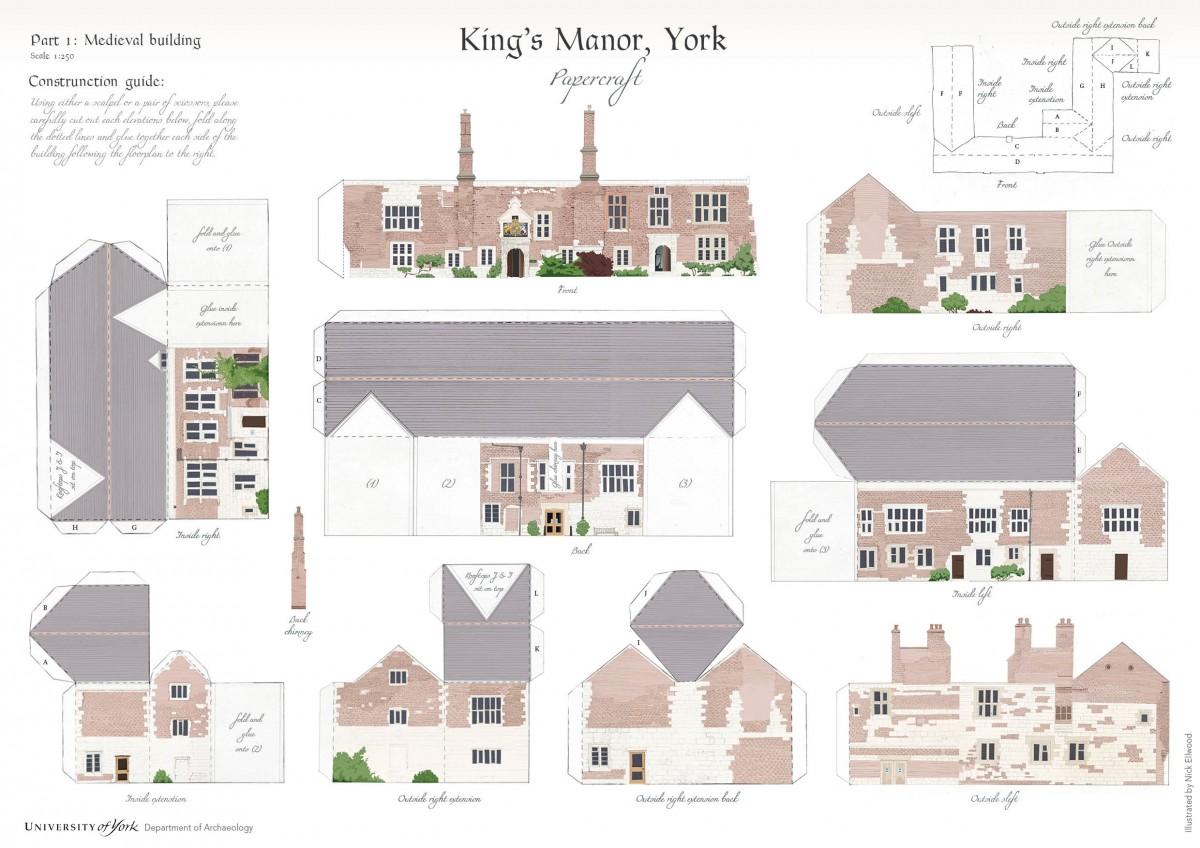 Nick Ellwood | King's Manor Papercraft – The University of